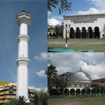 Masjid Raya Bandung (Doc. Pribadi)