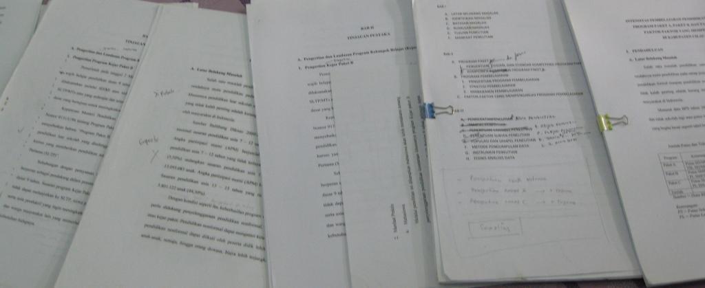 Berkas-berkas yang bikin stress