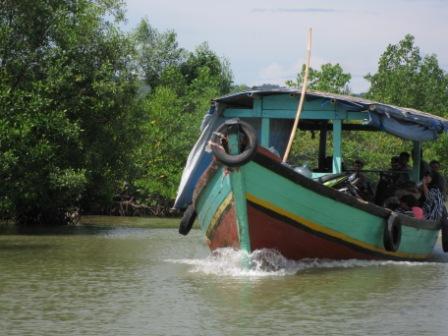 perahu compreng (Doc. Pribadi)