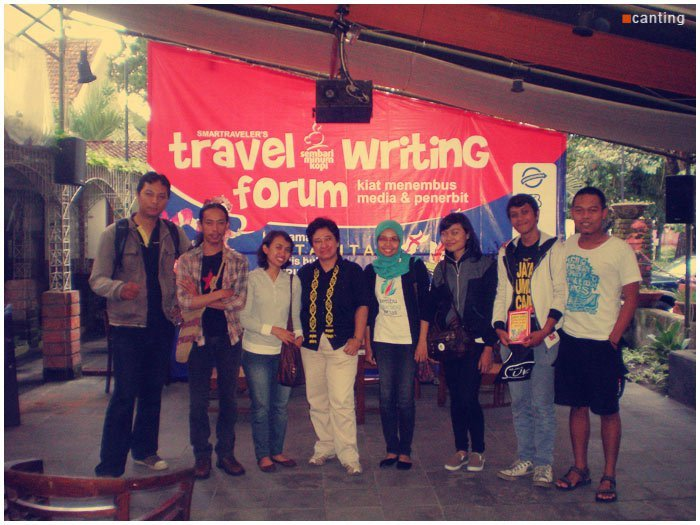 Canting with Matatita in SMK (sembari minum kopi) Travel Writing