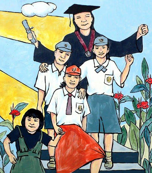 Pendidikan anak aman sampai universitas (Gambar milik Google)