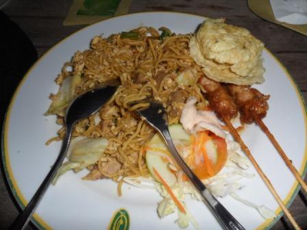 Dinner Omah Sinten